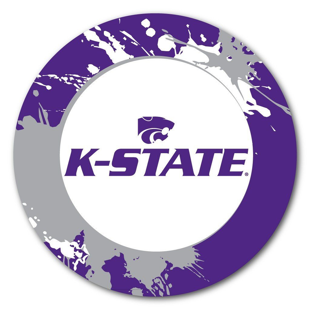 Kansas State University Fun Designs Coaster Set of 4 - FREE SHIPPING