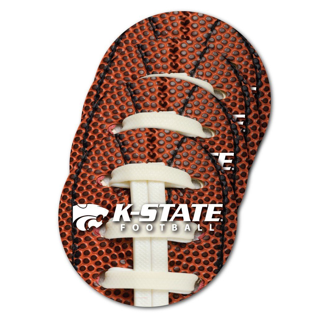 Kansas State University Football Coaster Set of 4 - FREE SHIPPING