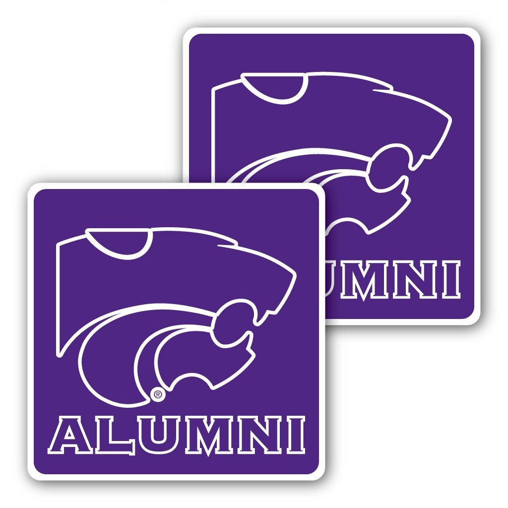 Kansas State University - Window Decal (Set of 2) - Alumni