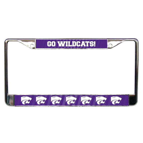 Kansas State University - License Plate Frame - Go Wildcats!