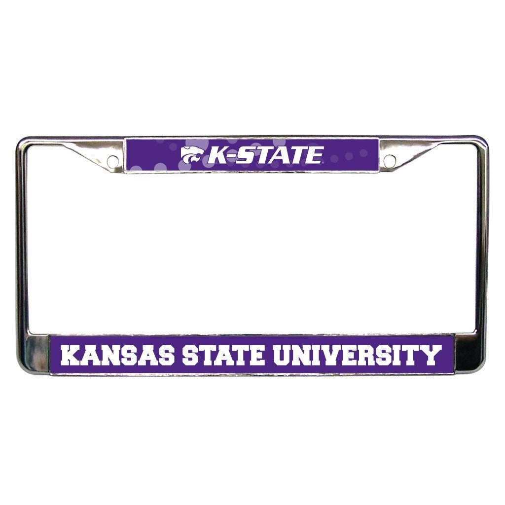 Kansas State University License Plate Frame FREE SHIPPING
