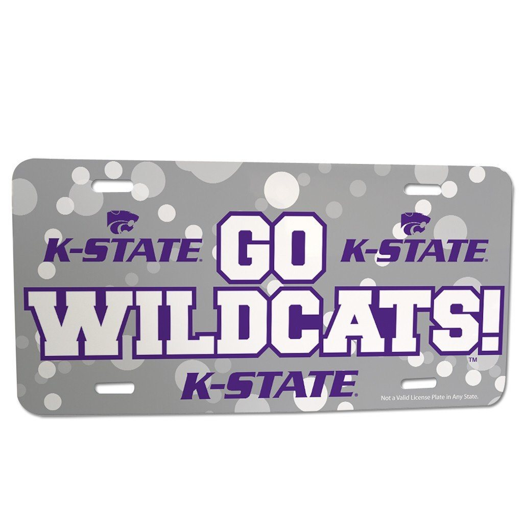 Kansas State University - License Plate - Go Wildcats!