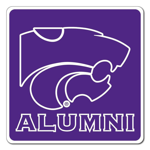 "Kansas State "" Alumni Shaped Magnet"
