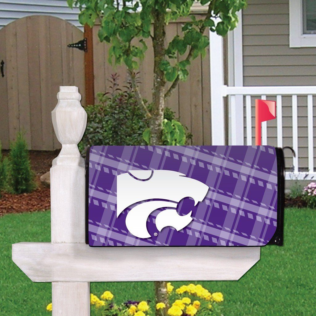 Kansas State Magnetic Mailbox Cover (Design 2)