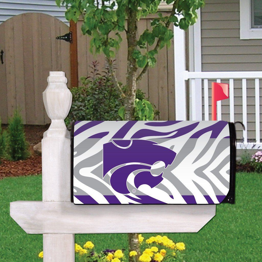 Kansas State Magnetic Mailbox Cover (Design 4)