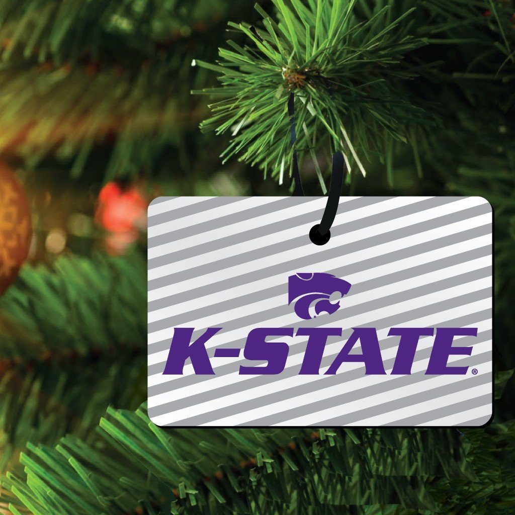 Kansas State University Ornament - Set of 3 Rectangle Shapes