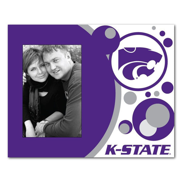 "Kansas State University Picture Frame "" Circles Design"
