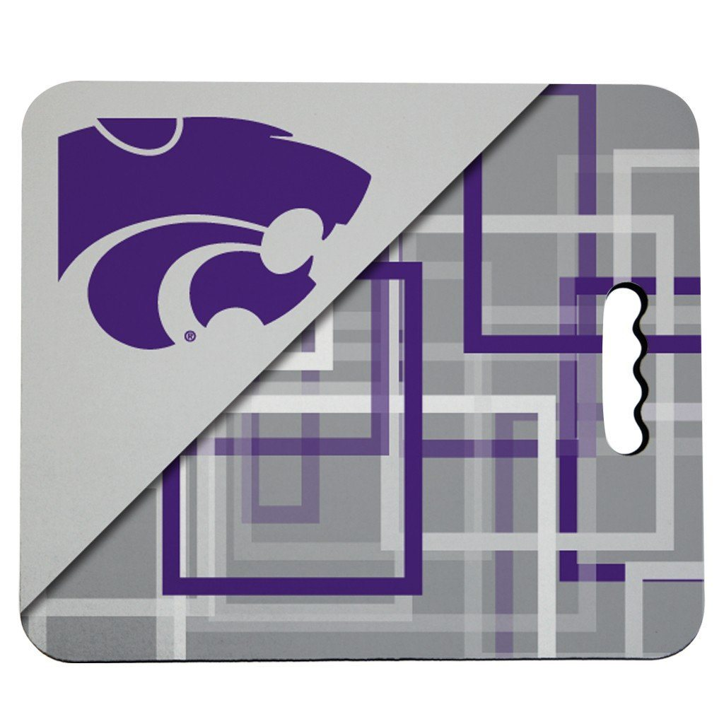 Kansas State University Stadium Seat Cushion - Squares Design