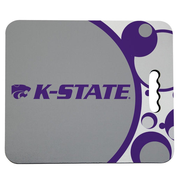 Kansas State University Stadium Seat Cushion - Circles Design