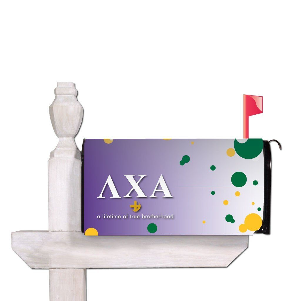 Lambda Chi Alpha Magnetic Mailbox Cover - Design 3
