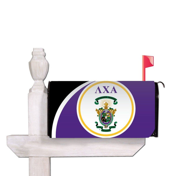 Lambda Chi Alpha Magnetic Mailbox Cover - Design 4