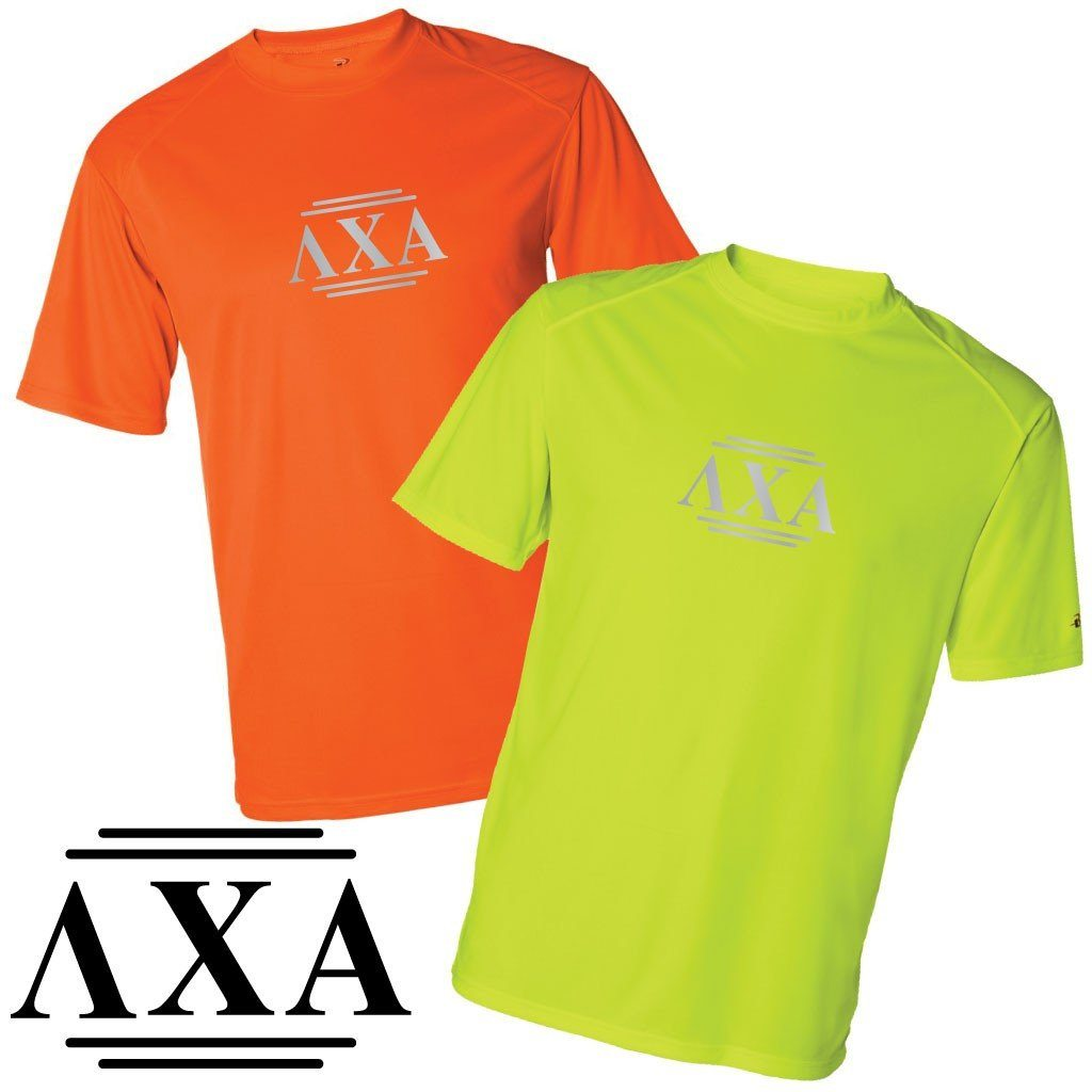 Lambda Chi Alpha Men's SafetyRunner Performance T-Shirt - FREE SHIPPING