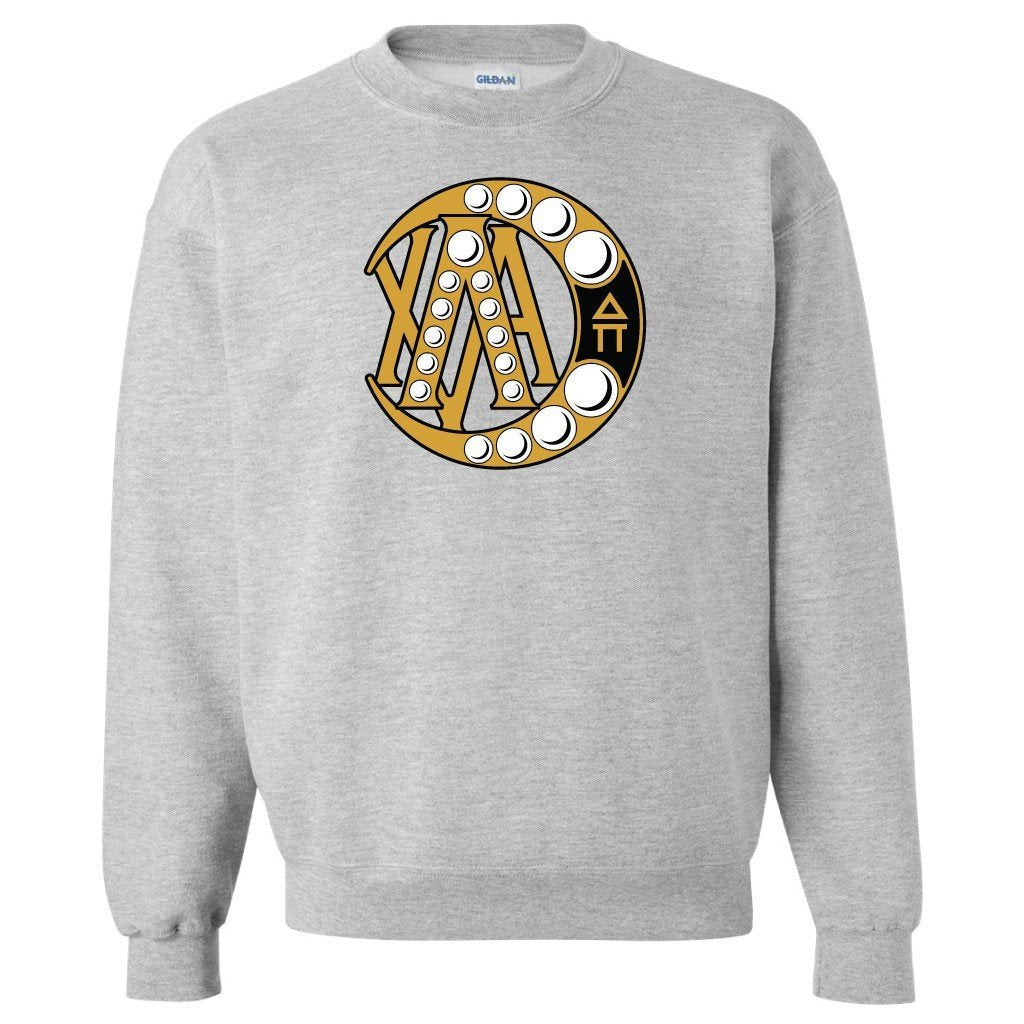 Lambda Chi Alpha Sport Gray Crewneck Sweatshirt Badge Design FREE SHIPPING