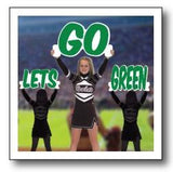 Let's Go Color Cheer Cut Out Words