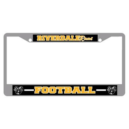 Riverdale Rams License Plate Frame FREE SHIPPING