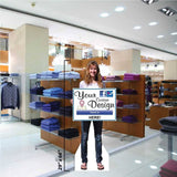 Teenage Girl Life Size Stand Up Cutout