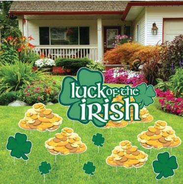 St. Patrick's Day - Yard Decoration - Luck o' the Irish - FREE SHIPPING