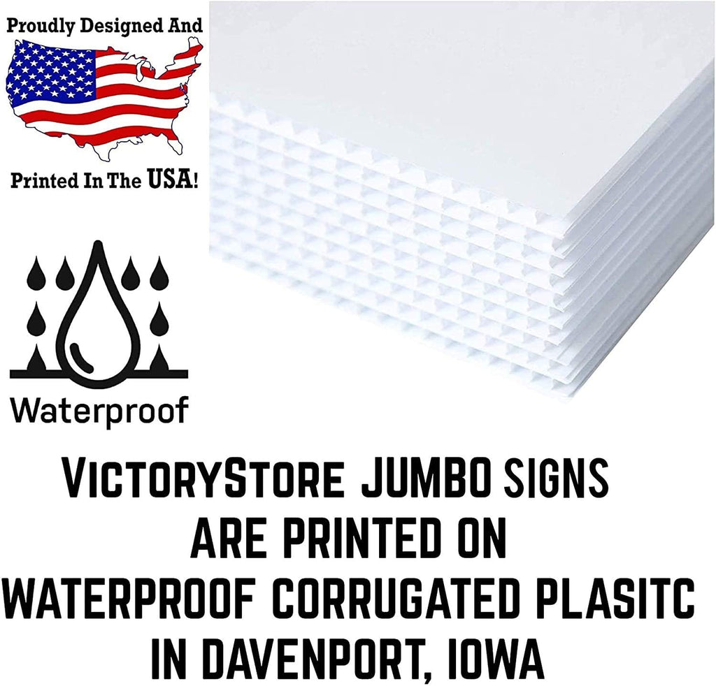 made in the USA and waterproof corrugated plastic