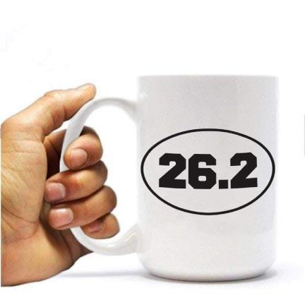 Marathon 26.2 coffee mug