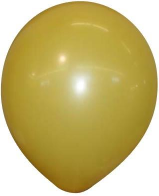 A yellowish gold balloon