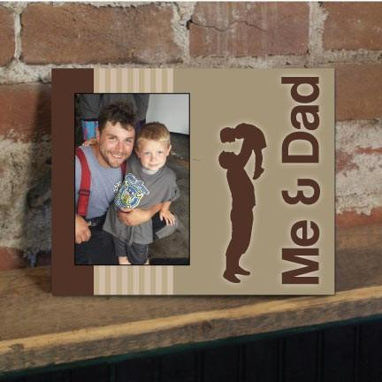 Me and Dad Brown Picture Frame