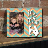 Me and Mom Chevron Picture Frame