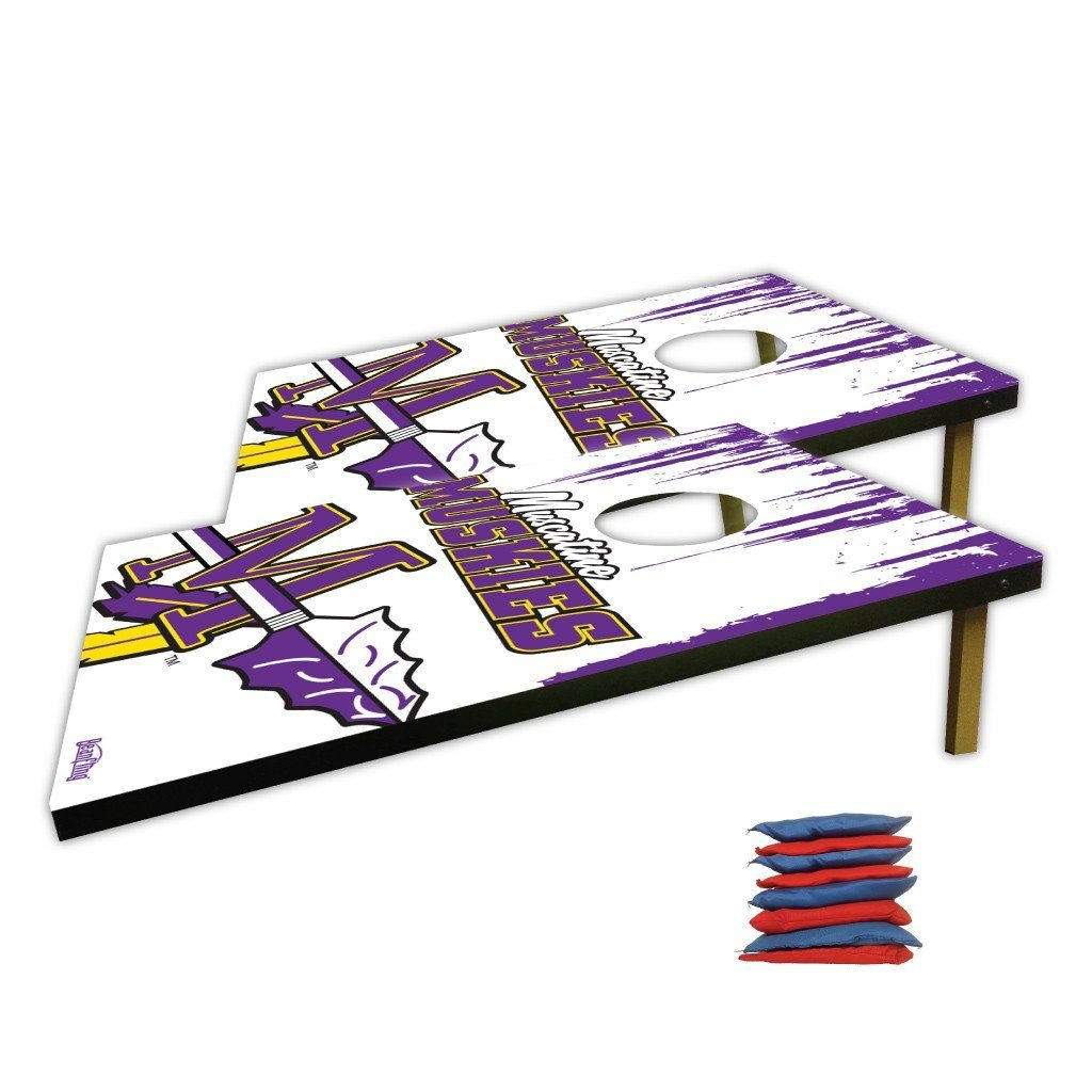 Muscatine High School Tomahawk Logo Bag Toss Game
