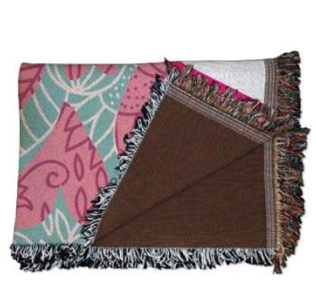 Hearts Mother's Day Woven Throw Blanket