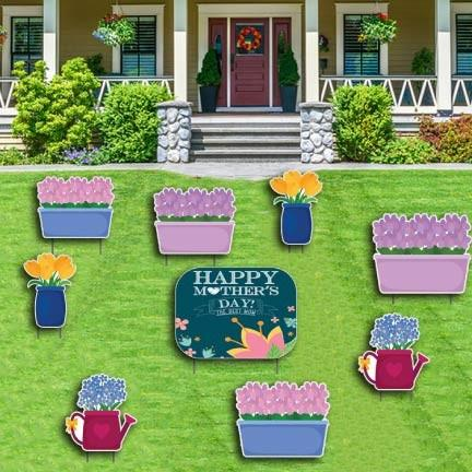 Mother's Day Yard Decoration - Flower Arrangements - FREE SHIPPING