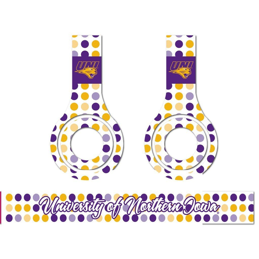 University of Northern Iowa - Set of 3 Patterns - Skins for Beats Solo HD