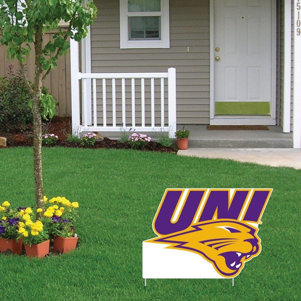 A sign for University of Northern Iowa