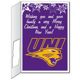 University of Northern Iowa 2'x3' Giant Christmas Greeting Card Plus