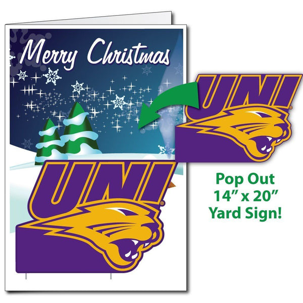 A University of Northern Iowa Holiday Greeting Cards