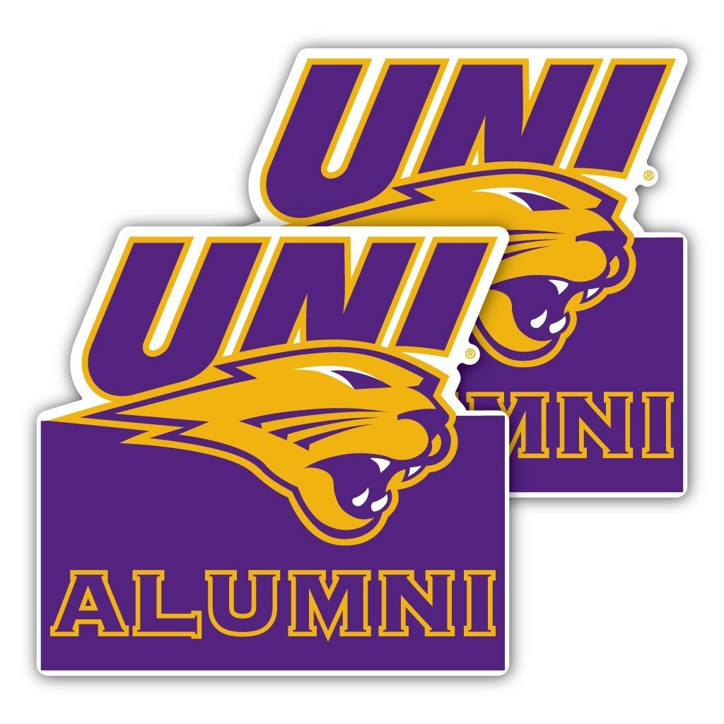 University of Northern Iowa Alumni Window Decal (Set of 2)
