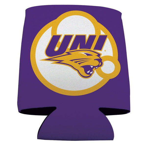 University of Northern Iowa Can Cooler - Circles Design