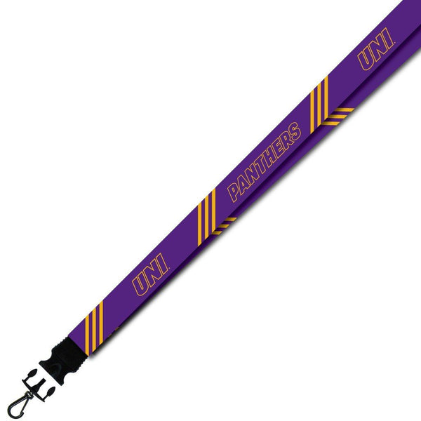 University of Northern Iowa - Lanyard - Stripes Design