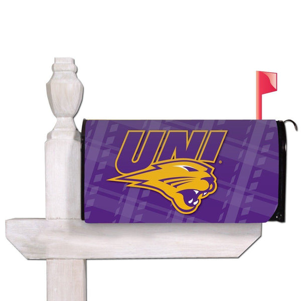 University of Northern Iowa Magnetic Mailbox Cover - Plaid Design