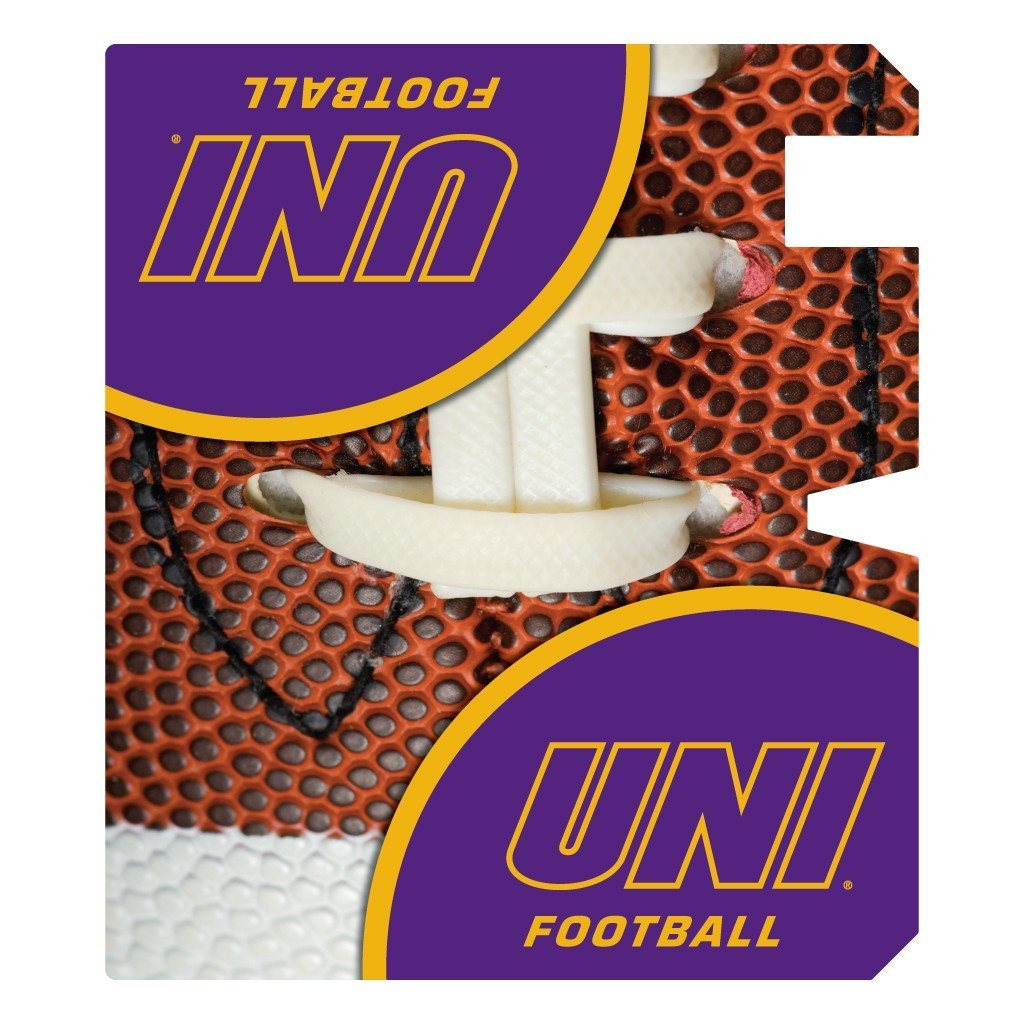 University of Northern Iowa Magnetic Mailbox Cover - Football