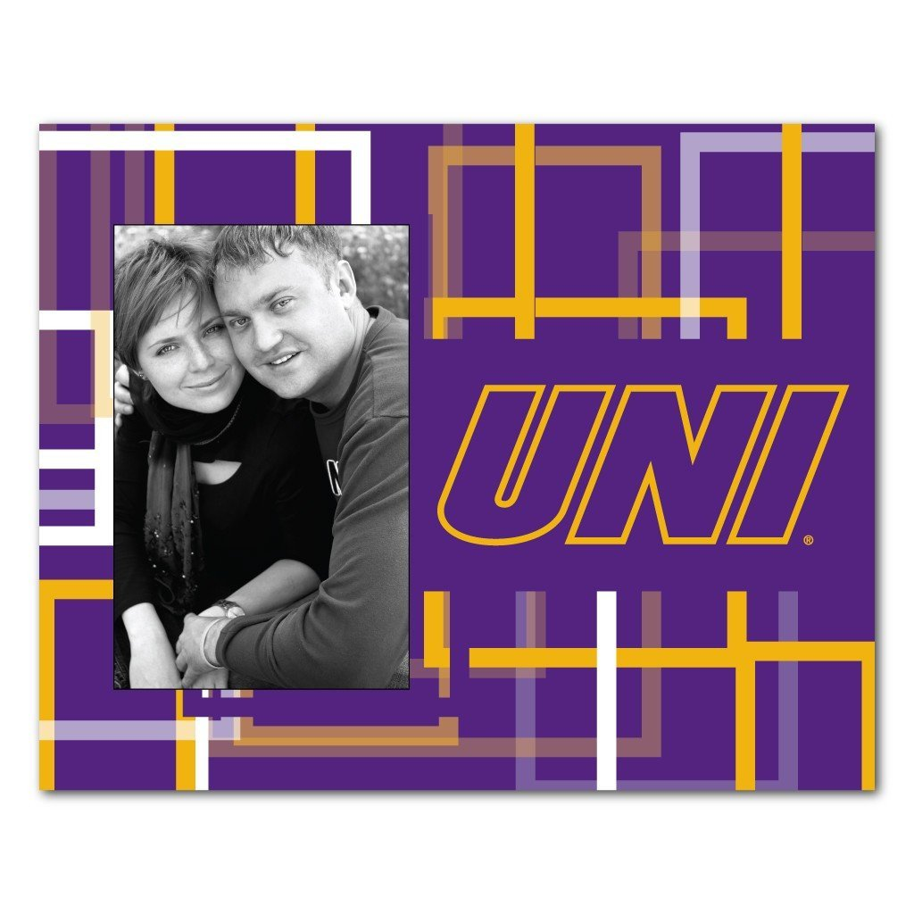 University of Northern Iowa Picture Frame - Squares Design