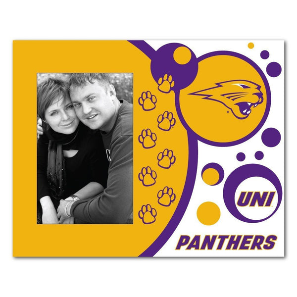 University of Northern Iowa Picture Frame - Circles Design