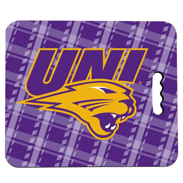 University of Northern Iowa Stadium Seat Cushion - Plaid Design