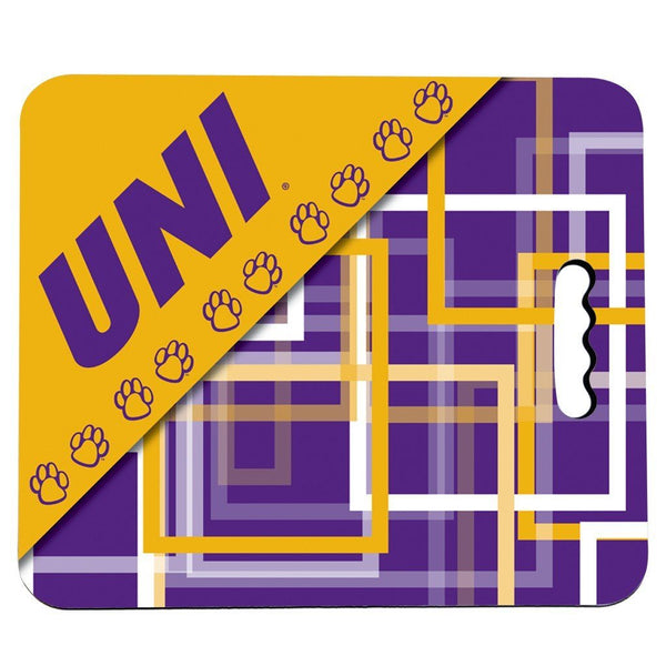 University of Northern Iowa Stadium Seat Cushion - Squares Design