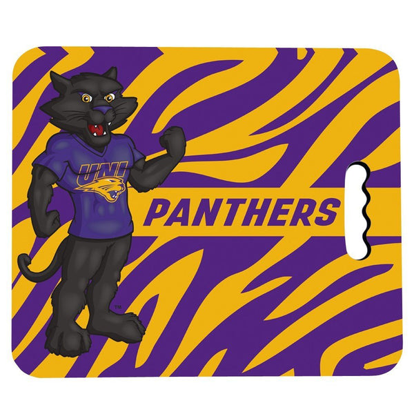 University of Northern Iowa Stadium Seat Cushion - Zebra Print Design