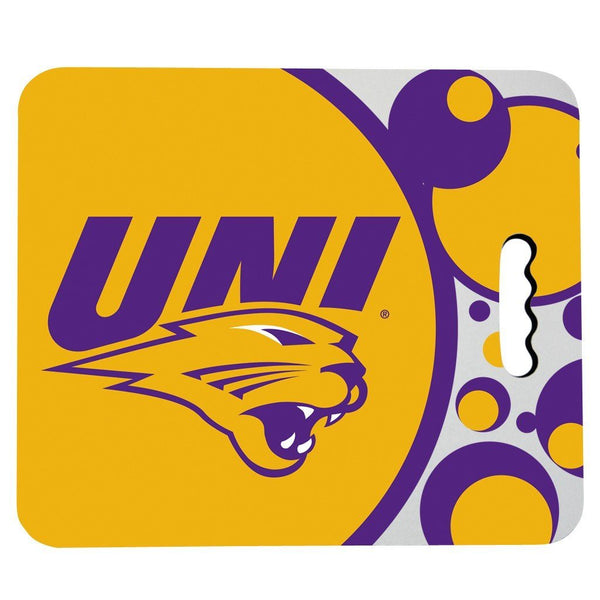 University of Northern Iowa Stadium Seat Cushion - Circles Design