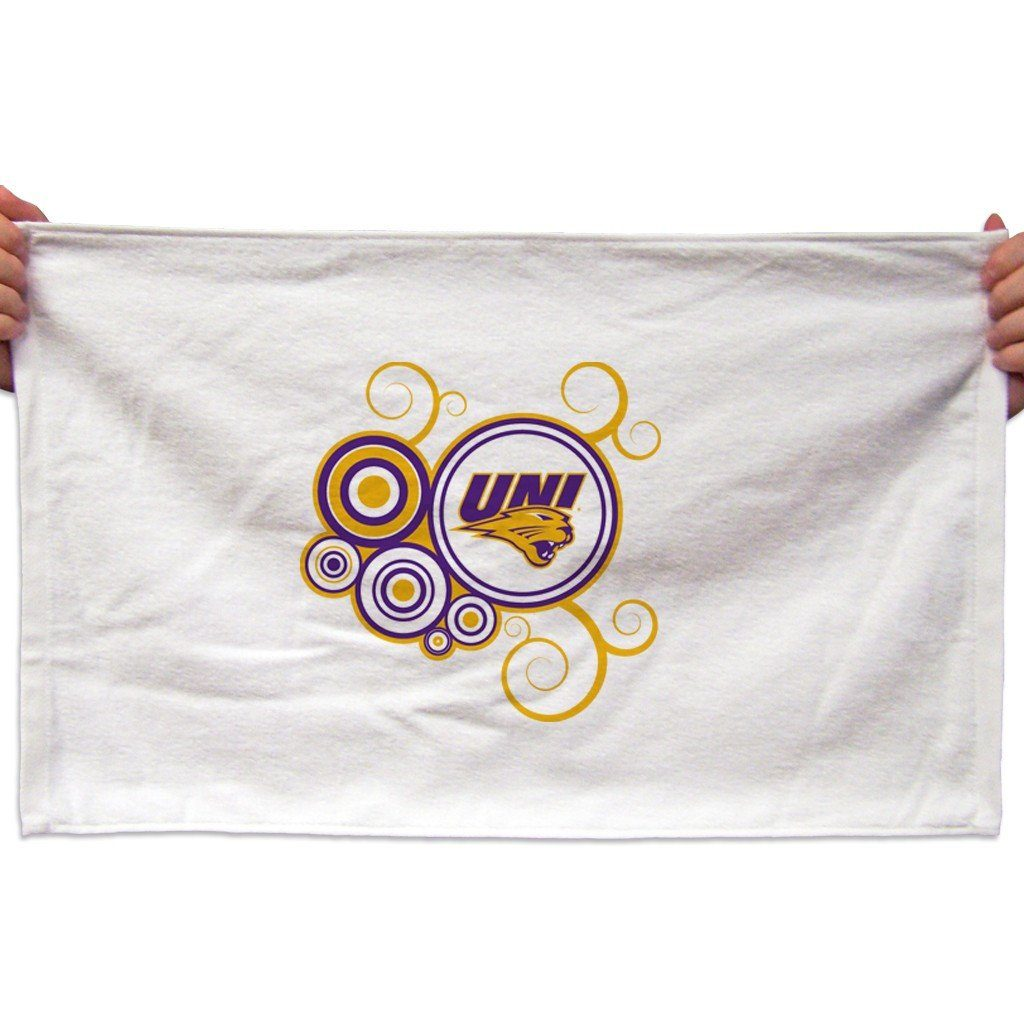 University of Northern Iowa Rally Towel (Set of 3) - Swirl Design