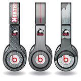 Northern Illinois University Skins for Beats Solo HD Headphone -3