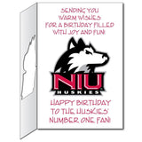 Northern Illinois University 2'x3' Giant Birthday Greeting Card Plus