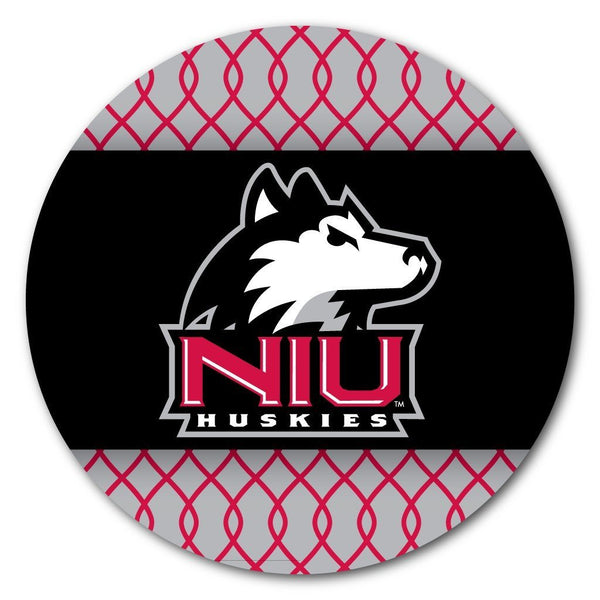 Northern Illinois University Coaster Set - Patterned Design - Set of 4