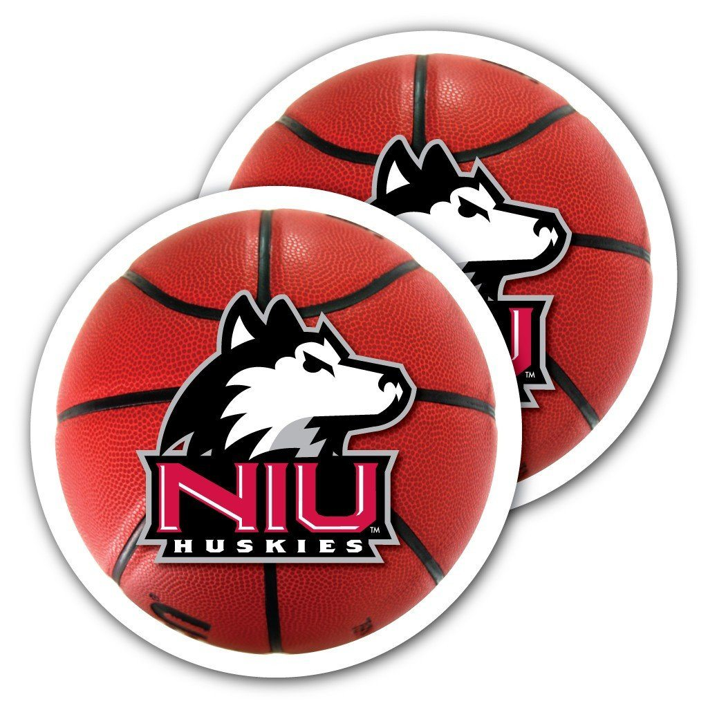 Northern Illinois University - Window Decal (Set of 2) - Basketball