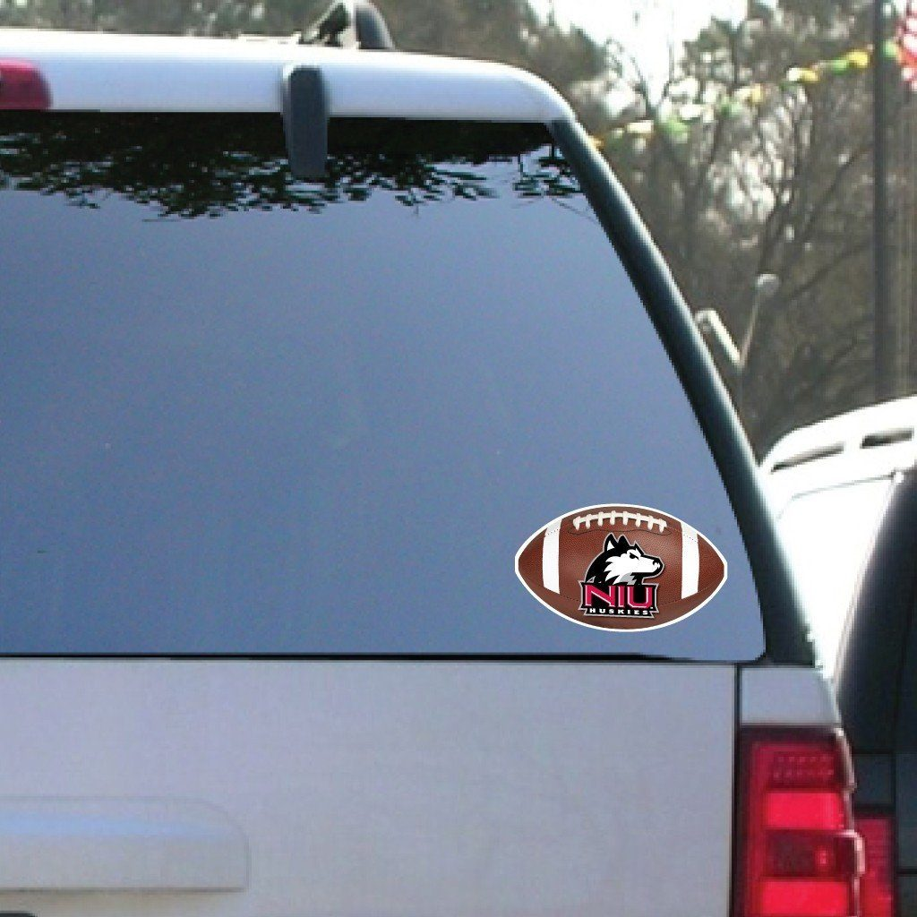 Northern Illinois University - Window Decal (Set of 2) - Football